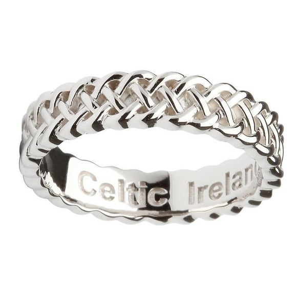 Thin Intricate Celtic Design Ring