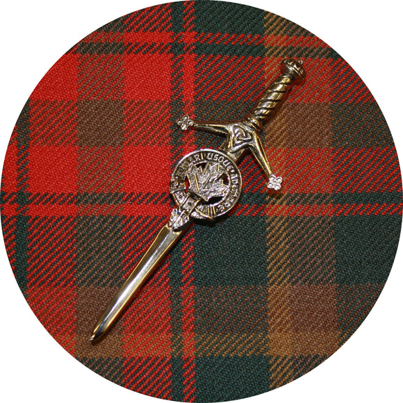 Maple Leaf Kilt Pin