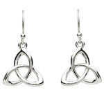 PlatinumWare Trinity Knot Earrings