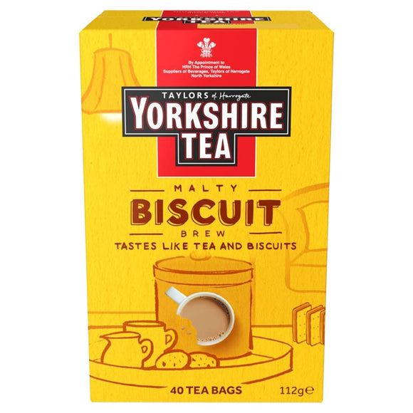 Taylors Yorkshire Biscuit Brew Teabags
