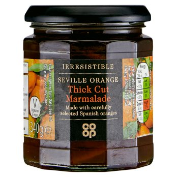 Co Op Irresistible Coarse Cut Marmalade 340g