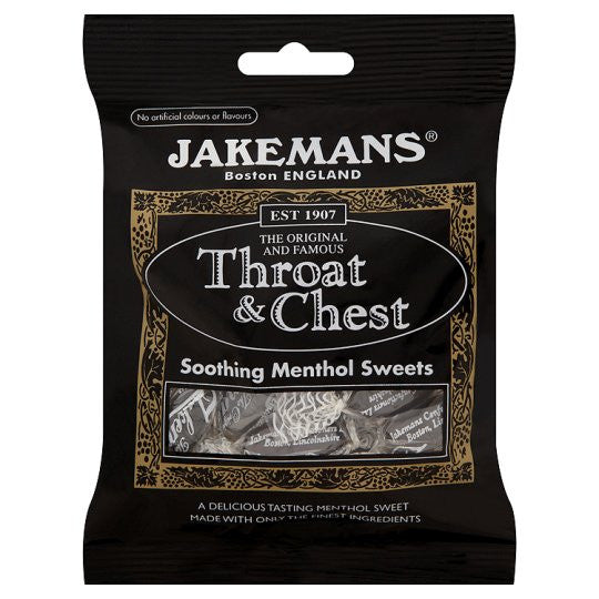 Jakeman Lozenge Throat & Chest