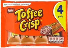 Nestle Toffee Crisp Multipacks