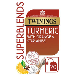 Twinings Superblends Turmeric