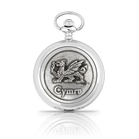 Welsh Dragon Cymru Mechanical Pocket Watch