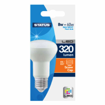 Status R63 LED Bulb Reflector Spotlights ES 8 Watt = 60 Watt 320 Lumens LED Spotlight
