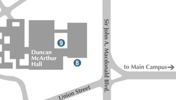 West campus map