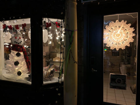 Martello Alley Christmas Window