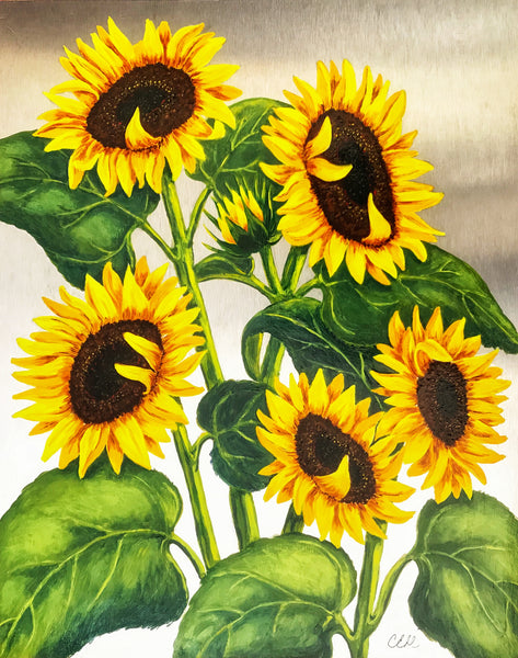 Sunshine Symphony 1 - 8 x 10 print by Cathie Hamilton - Martello Alley