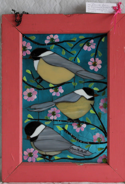 Signs of Spring - Stained Glass Mosaic by Bonita Bell - Martello Alley