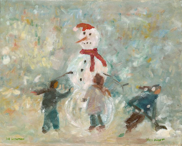 The Snowman - 8.5 x 11 - Print by David Dossett - Martello Alley