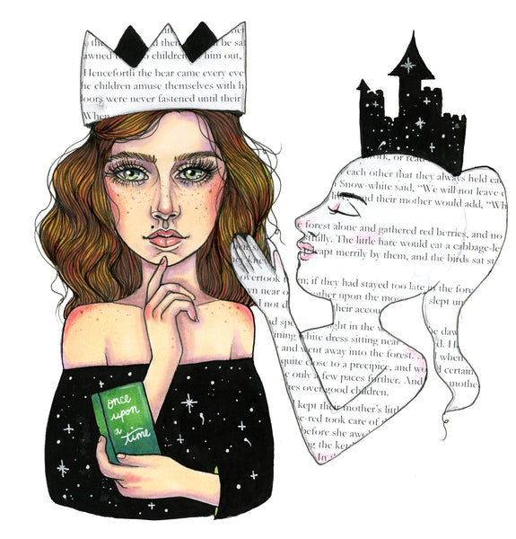 I Rule my own Story Kyla Mayne Print