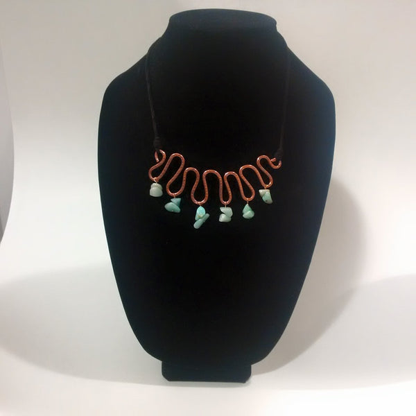 Necklace and Earring Set - Jewelery by Wanda Caird - Martello Alley