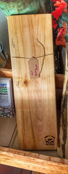 60 - Spalted Maple Charcuterie Board made by James Thompson (Timber by Tucker)