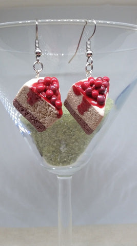 Cheesecake Earrings - Jewelery by Erica Young - Martello Alley