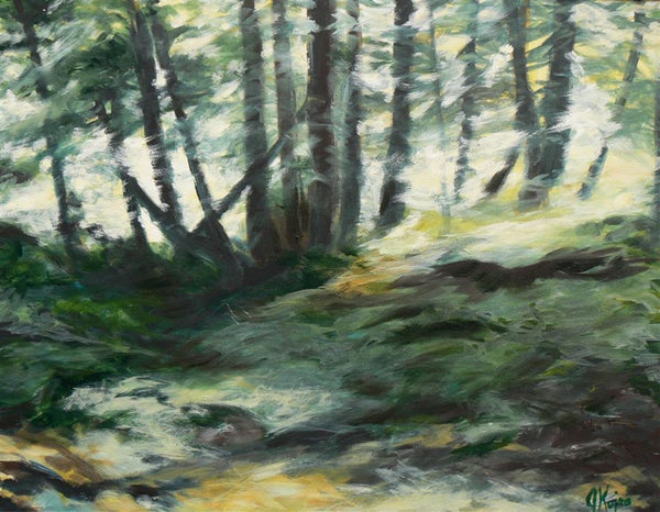 Forest Light - Original Julie Kojro