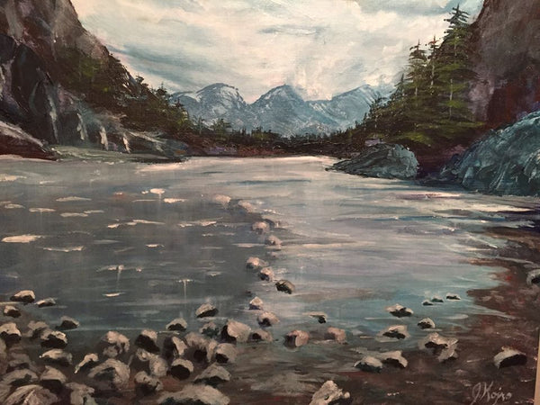 Beautiful Banff - Original Julie Kojro