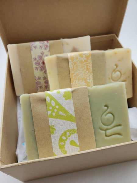 Luzury Soap Set - soap by Zao Soap and Pottery - Martello Alley