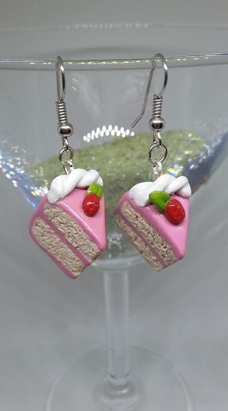 Strawberry Short Cake - Jewellery by Erica Young - Martello Alley
