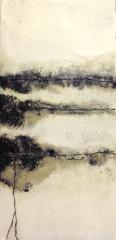 A change in the Weather - Encaustic by Meg Muirhead - Martello Alley