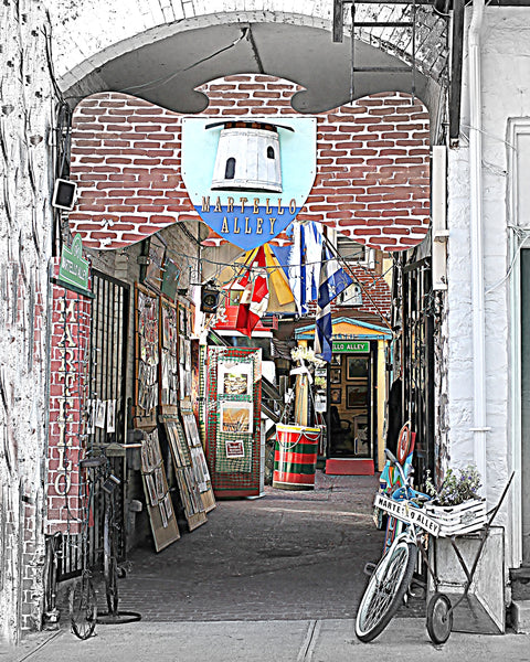 "Martello Alley - 8 x 10 print - 8"" x 10"" print by Karen Leggo - Martello Alley"