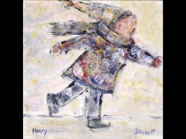 Henry - Acrylic Painting by David Dossett - Martello Alley