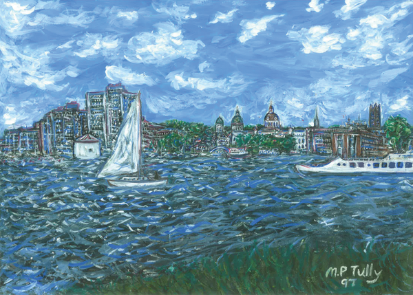 Kingston Harbour Tully Print