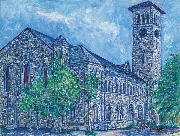 Grant Hall Tully Print - Print by Tully - Martello Alley
