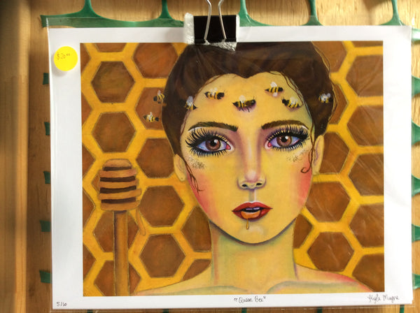 Queen Bee Print - 8x10 print by Kyla Mayne - Martello Alley