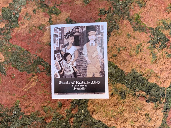Ghosts of Martello Alley - Little book by Everdello (Joanne Stanbridge) - Martello Alley