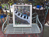 "Glass mosaic ""Music"""