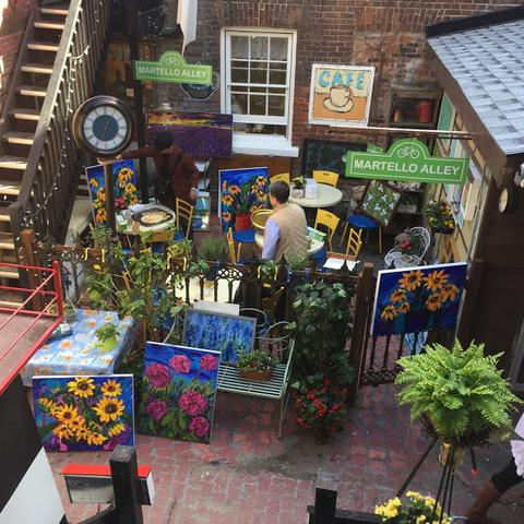 Jardin'Art 2017 (various pieces) - Jardin'Art (Art in a garden) by Martello Alley - Martello Alley