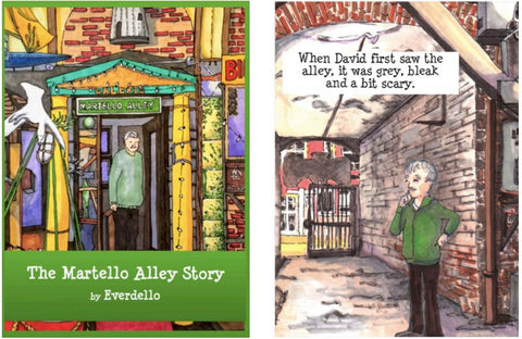 The Martello Alley Story - Little Book by Everdello (Joanne Stanbridge) - Little book by Everdello (Joanne Stanbridge) - Martello Alley