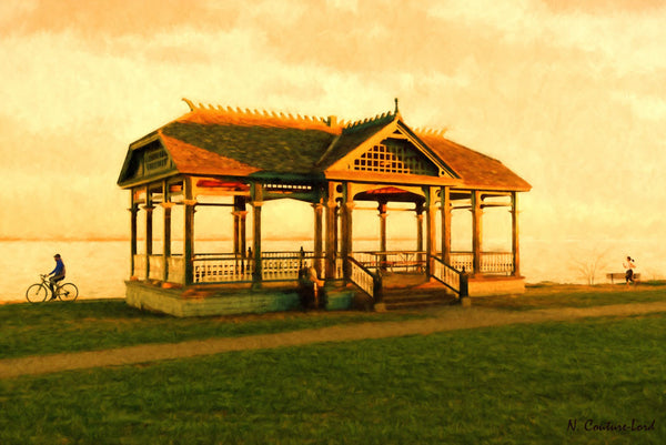 Newland's Pavilion - print large size - 18 x 12 prints by Nicole Couture-Lord - Martello Alley
