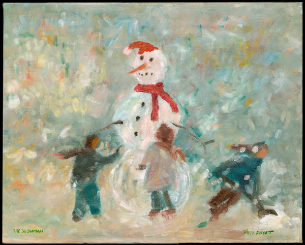 The Snowman Large Card