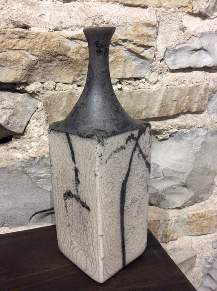 Raku Bottle small