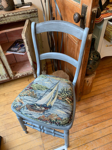 Nautical theme Chair - Chair by Martello Alley - Martello Alley