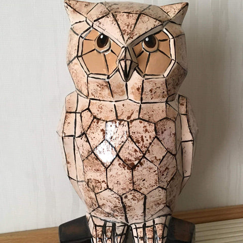Ceramic-Owl - Ceramic by Annette Bruneau - Martello Alley