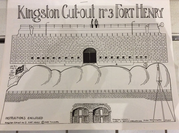 Kingston Fort Henry Cut-Out