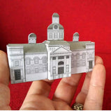 Kingston City Hall Papercraft Model - papertoy by Nick Csernak - Martello Alley