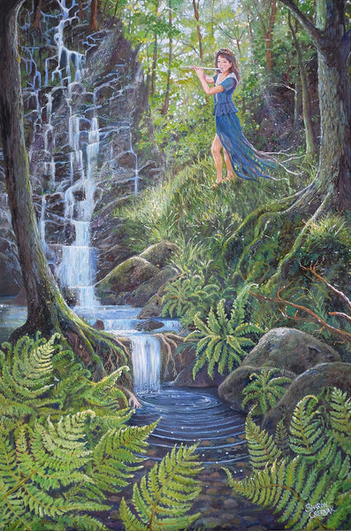 Grove of the Eternal Spring- Sharon Csernak giclee print - Print by Sharon Csernak - Martello Alley