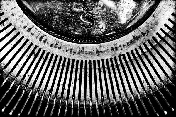 Olympia Typewriter Strikeplate -  by Dan Fleury - Martello Alley