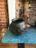 Large thistle vase - Pottery by Peggy Davidson - Martello Alley