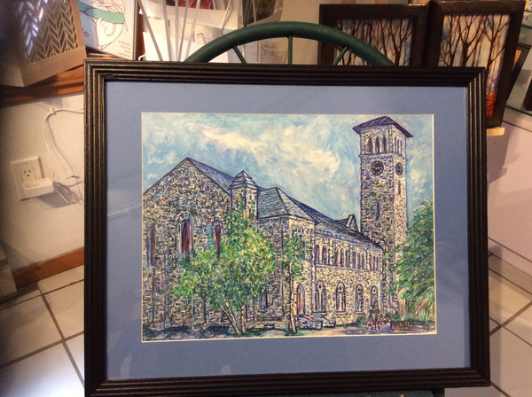 Grant Hall framed original