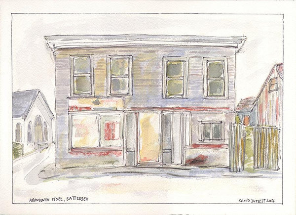 Battersea Store - Print by David Dossett - Martello Alley