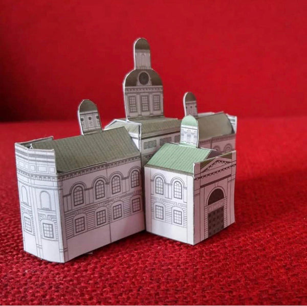 Kingston City Hall Papercraft Model