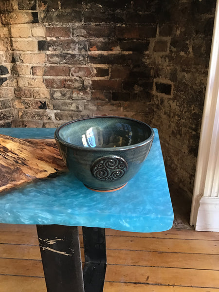 Soup bowl -  by Peggy Davidson - Martello Alley