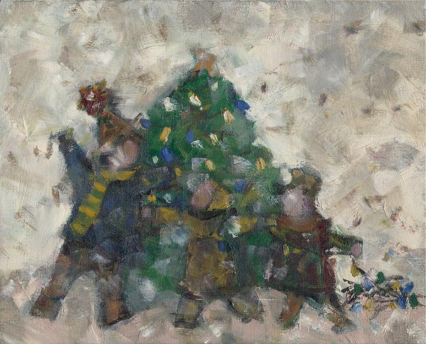 Decorating The Tree - Print by David Dossett - Martello Alley