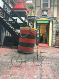 Steel Bicycle Sculpture - Sculpture by Frontenac Fabrication - Martello Alley