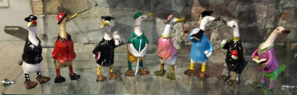Dandy Dressed-up Ducks